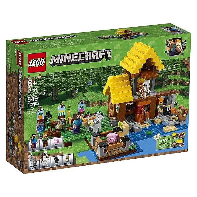 Amazon.com: LEGO Minecraft: La granja 21144. Juego de ...