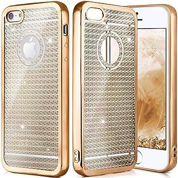 Oneflow Apple Iphone 5s Hülle Glitzer Gold Amazonde Elektronik