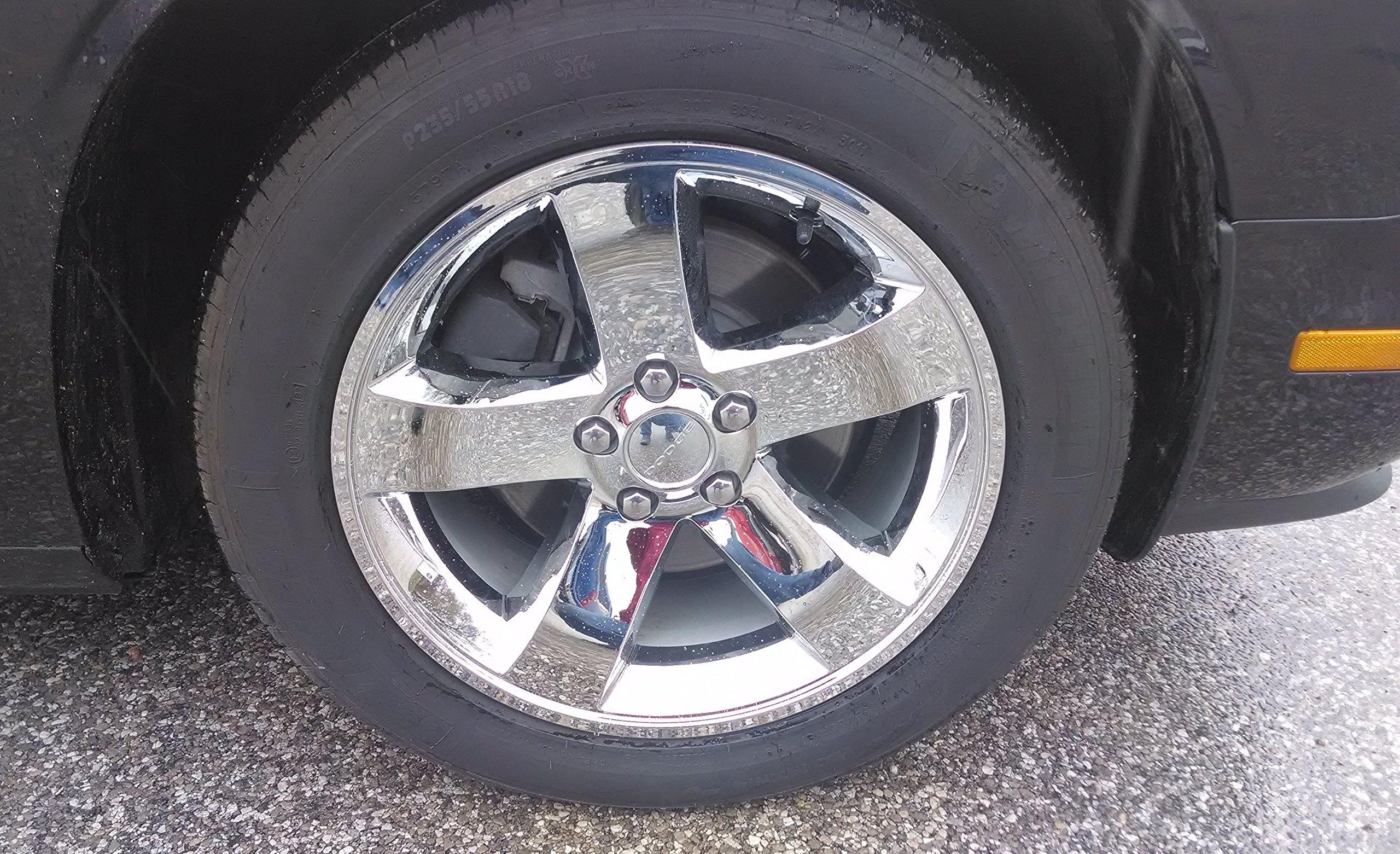 09-14 Dodge Challenger 18'' Chrome Wheel Skin
