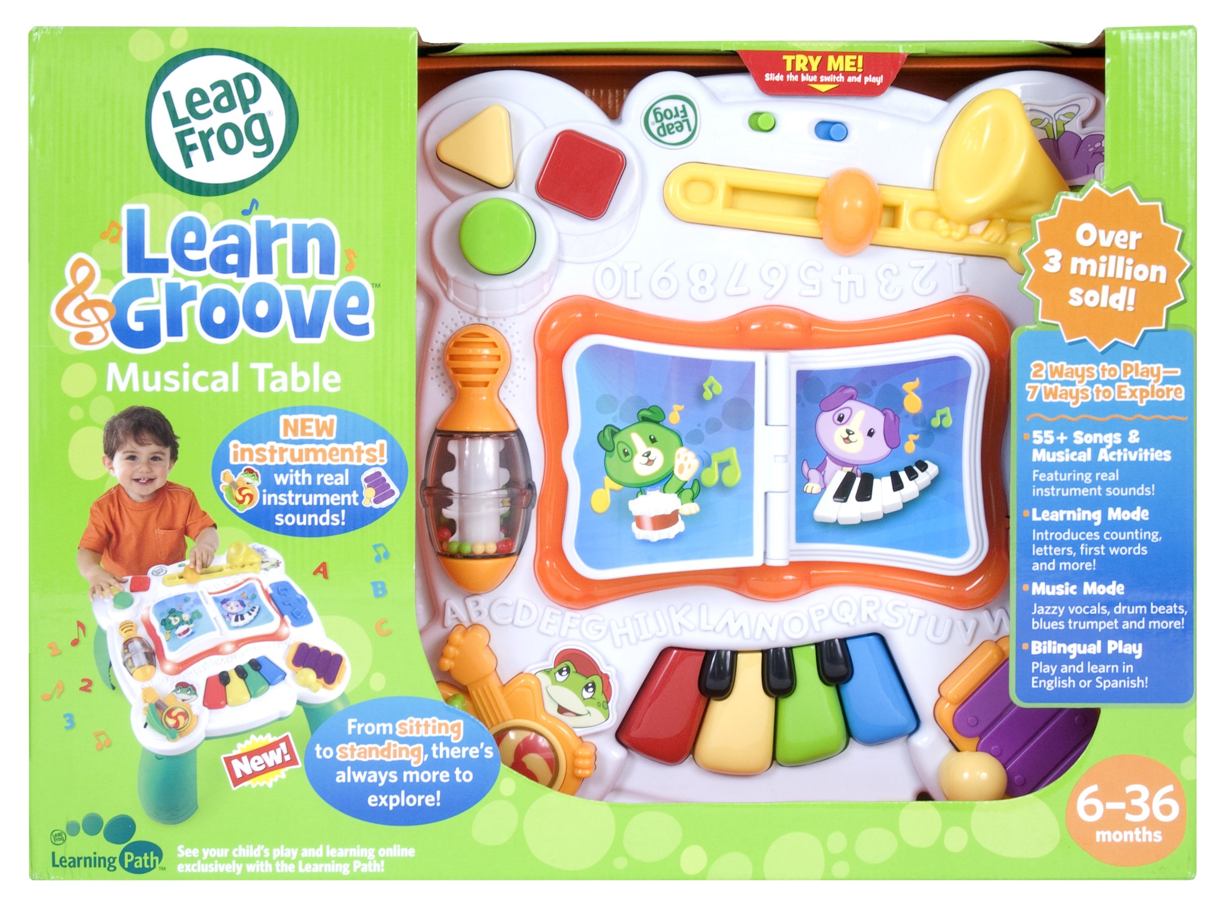 LeapFrog Learn & Groove Musical Table by LeapFrog (Image #2)