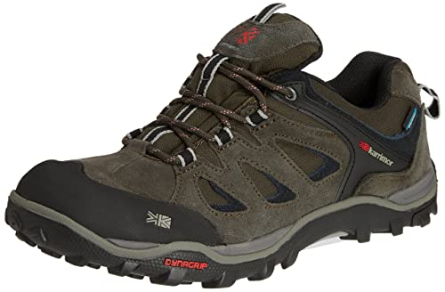 Karrimor Toledo Weathertite - Low Rise Hiking de cuero hombre, color negro - Black (