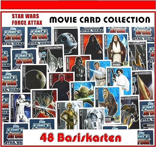 Force ATTAX CLONE wars serie 1 2 3 4 et 5 Movie Card série 1 2 3 toutes les cartes