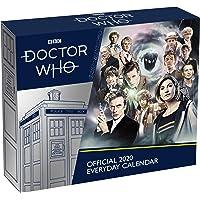 Doctor Who 2020 Desk Block Calendar - Official Desk Block Format Calendar