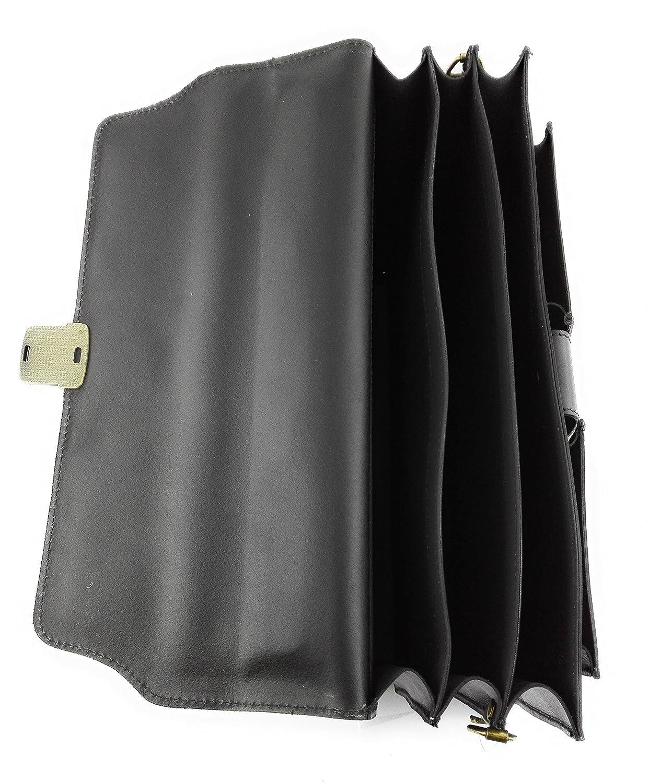 a0aaa22488 Zerimar Borsa Valigetta realizzata in pelle bovina di alta qualità Più  compartimenti Misure 40x30x15 cms Colore ingrandisci