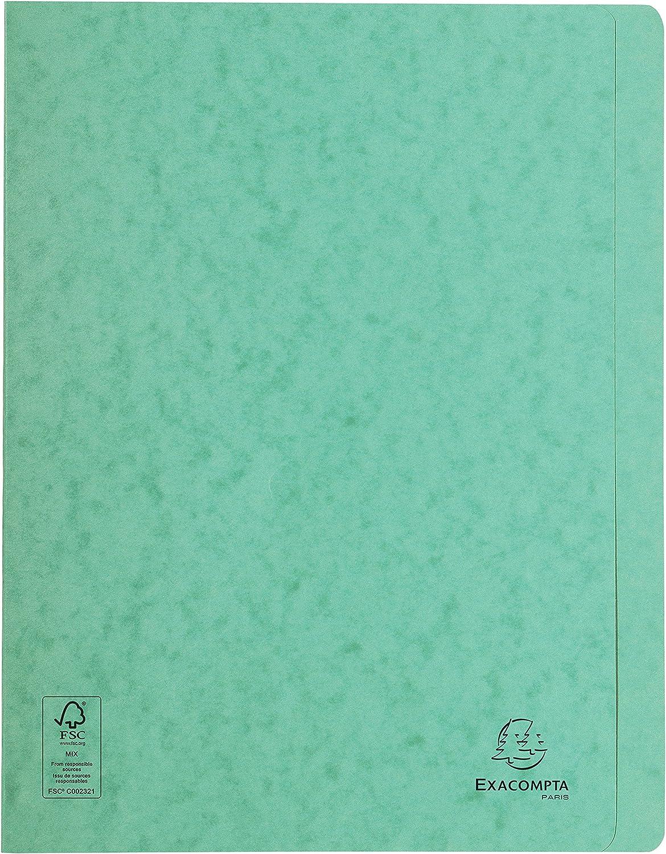 Bianco 24x32 cm Exacompta 38982E Cartelle a Sistema