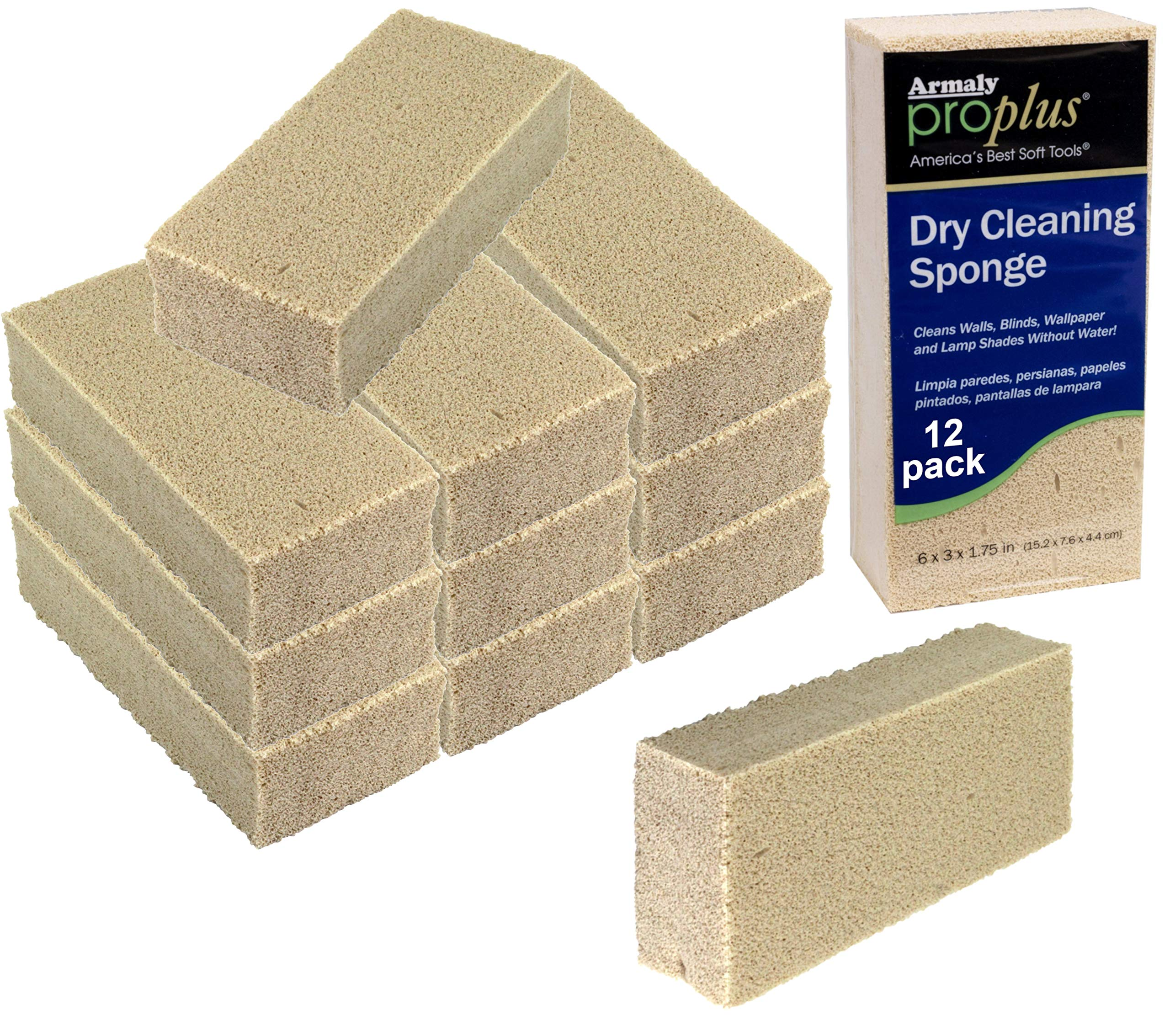 Armaly ProPlus Dry Cleaning Sponge (12-Pack)