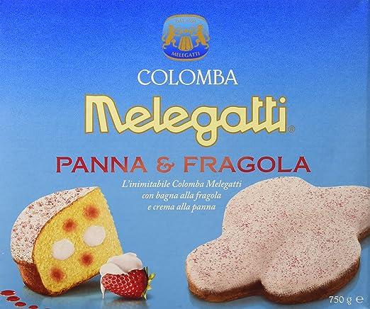 Melegatti Colomba Panna Fragola Gr.750: Amazon.it: Alimentari e cura ...
