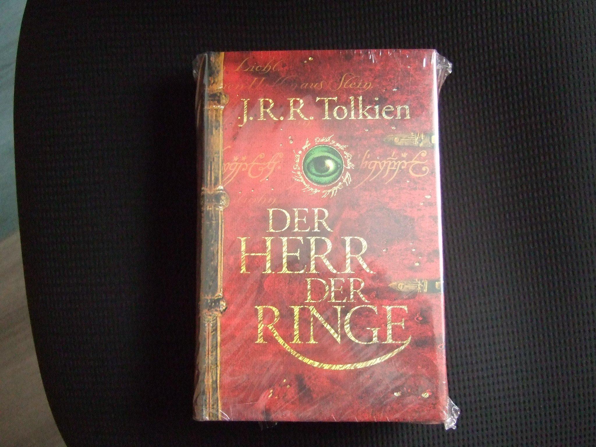 Der Herr Der Ringe Einbandige Ausgabe Amazon De J R R Tolkien Bucher