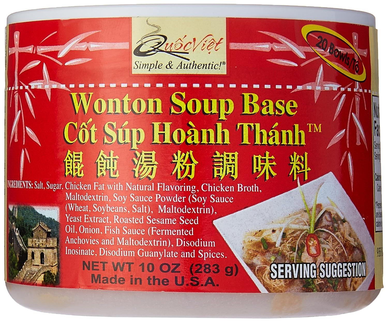 Quoc Viet Foods - Wonton Soup Base 10oz Cot Sup Hoanh Thanh Brand