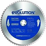 Evolution 66T Lame TCT Raptor de scie circulaire pour acier 355mm