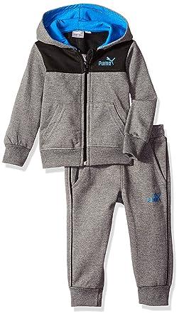 1a87e1a23 Amazon.com  PUMA Baby Boys  Fleece Zip Up Hoodie Set  Clothing