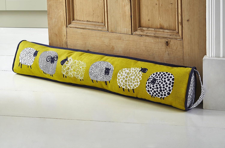 Ulster Weavers - Cojín Cortavientos Decorativo para Puertas con diseño de Oveja de 90 x 14 x 7,6 cm
