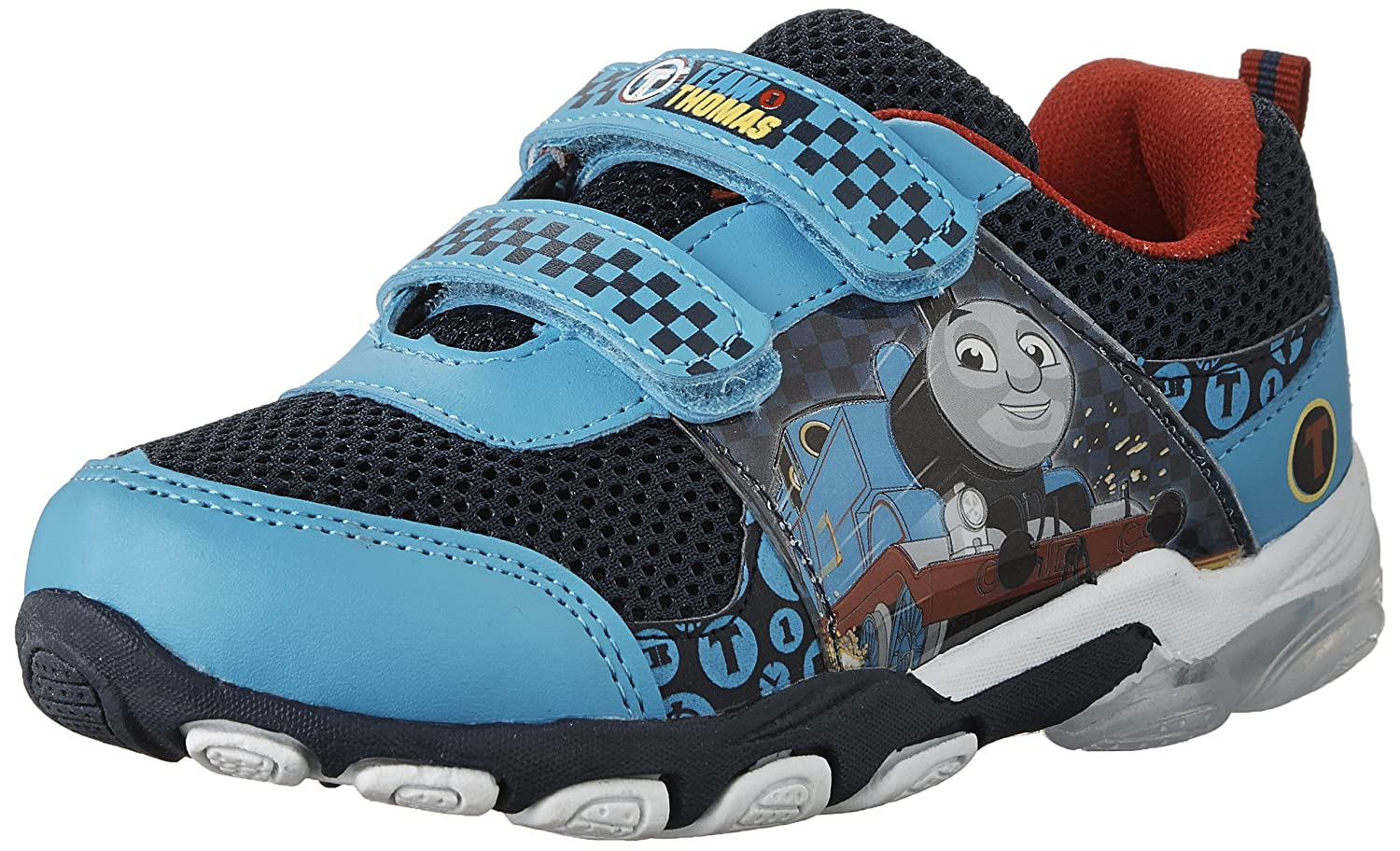 Thomas and Friends Kids' 61247 Athletic Shoe Lighted Outsole-K Blue 5 M US Toddler