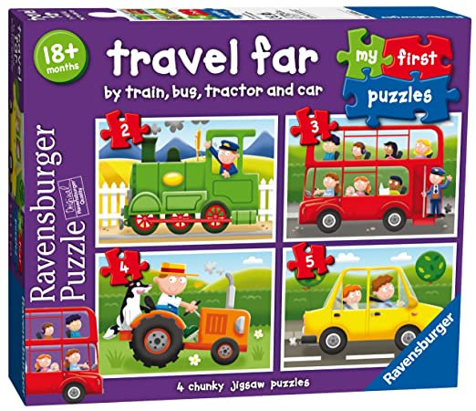 2 opinioni per Ravensburger My First Puzzles Travel Far