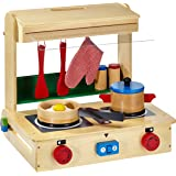 Small Foot Company 4732 - Küche im Koffer Profi, Haushaltsspielzeug