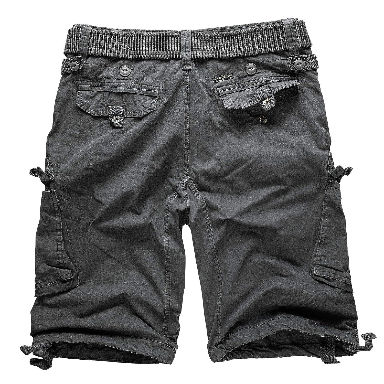 Geographical Norway Cargo Shorts Bermuda Shorts With Belt Shorts Hunter In Bundle With UD Bandana