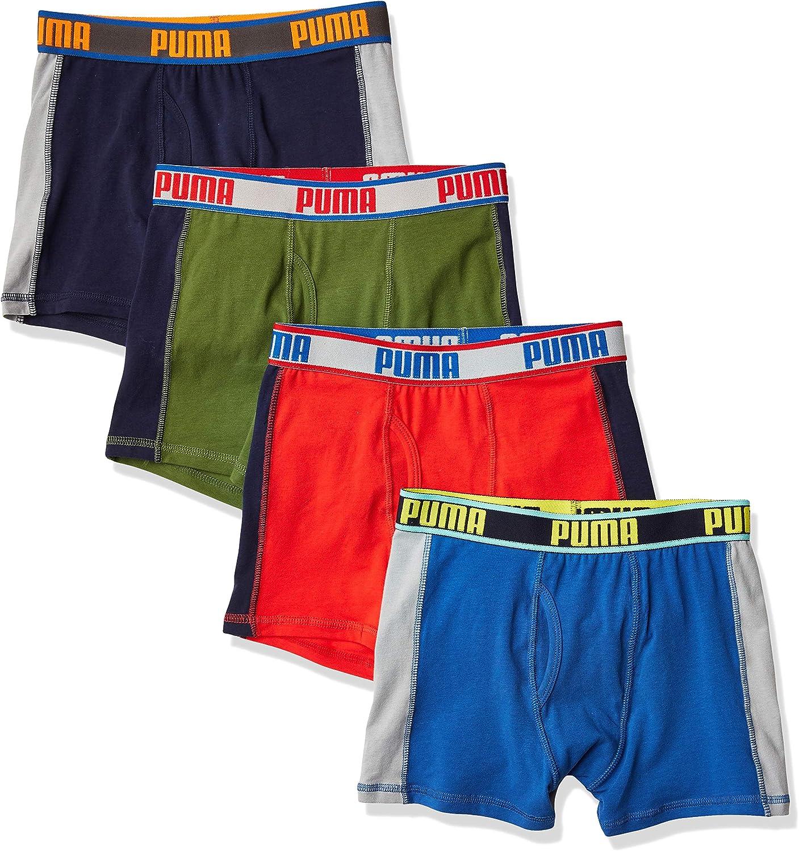 PUMA Boys Boxer Brief Boxer Briefs