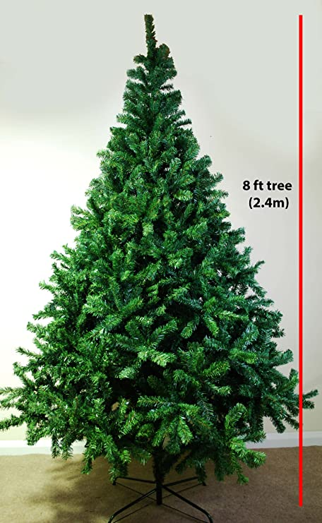 LIFETIME TREES *SALE* 8 FOOT GREEN ARTIFICIAL CHRISTMAS TREE 8FT (2.4M) - LIFETIME TREES *SALE* 8 FOOT GREEN ARTIFICIAL CHRISTMAS TREE 8FT
