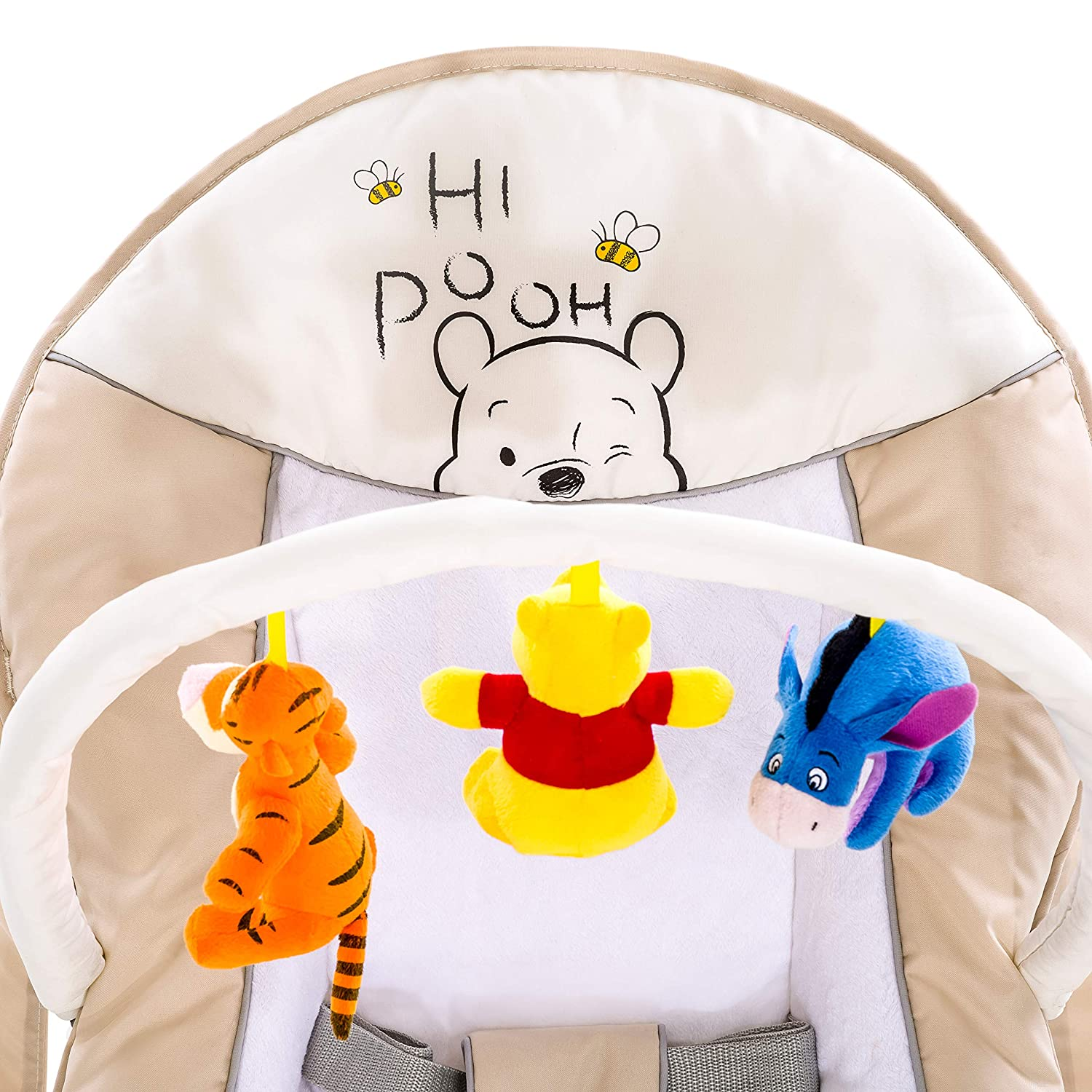 d3d485d369b Pooh Cuddles Hauck Fun for Kids Ltd H-63364 Baby Products Disney Bungee  Deluxe Bouncer