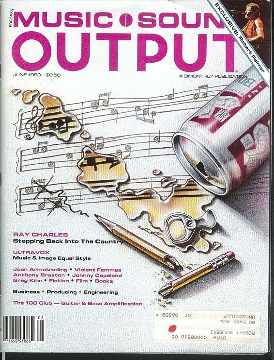 Amazon.com: MUSIC SOUND OUTPUT Robert Palmer Ray Charles ...