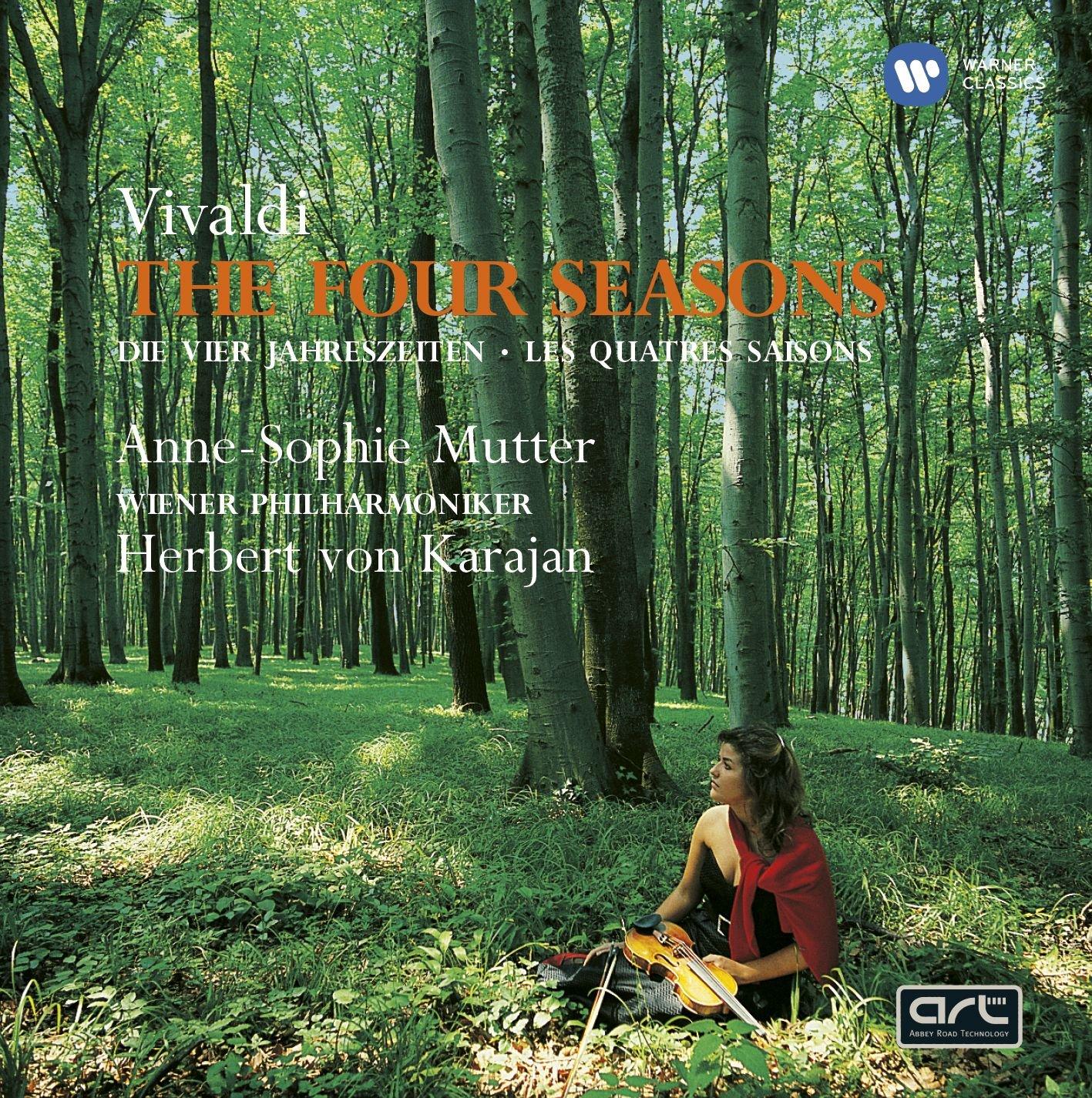 CD : Anne-Sophie Mutter - 4 Seasons (CD)