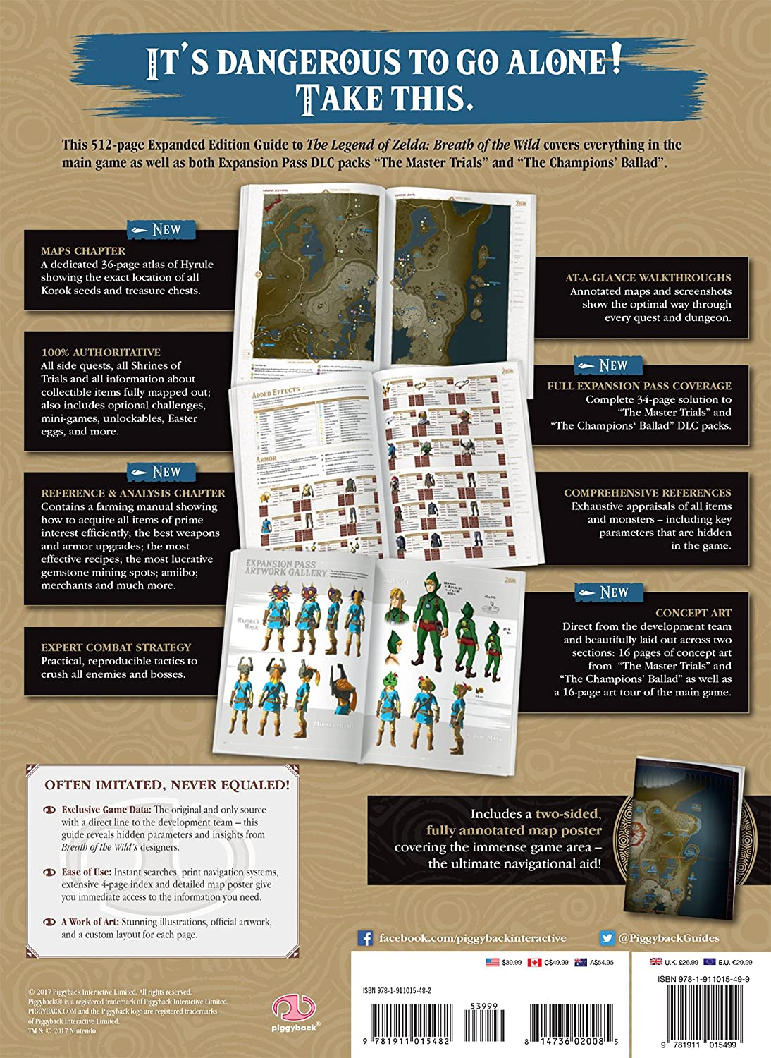 Piggyback Interactive The Legend of Zelda: Breath of The Wild: The Complete  Official Guide - Expanded Edition (Hardcover)