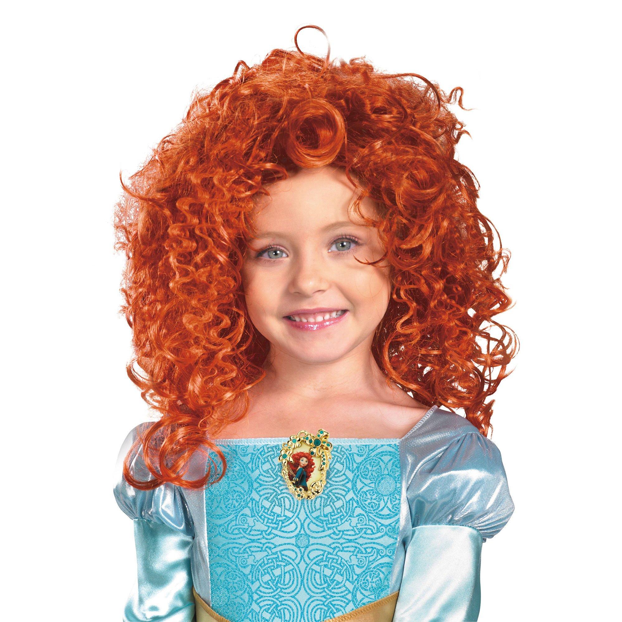 Party Hair's exclusive Merida long red hair wig brave mireda mereda