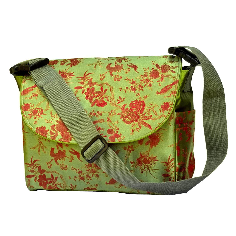 【高額売筋】 I Bag Frogee Bag Green Multi Function Brocade Diaper Bag// Backpack/ Stroller Bag by I Frogee B00BIPVQ0E, Webtrade[ウェブトレード]:0e13eaf3 --- efichas.com.br