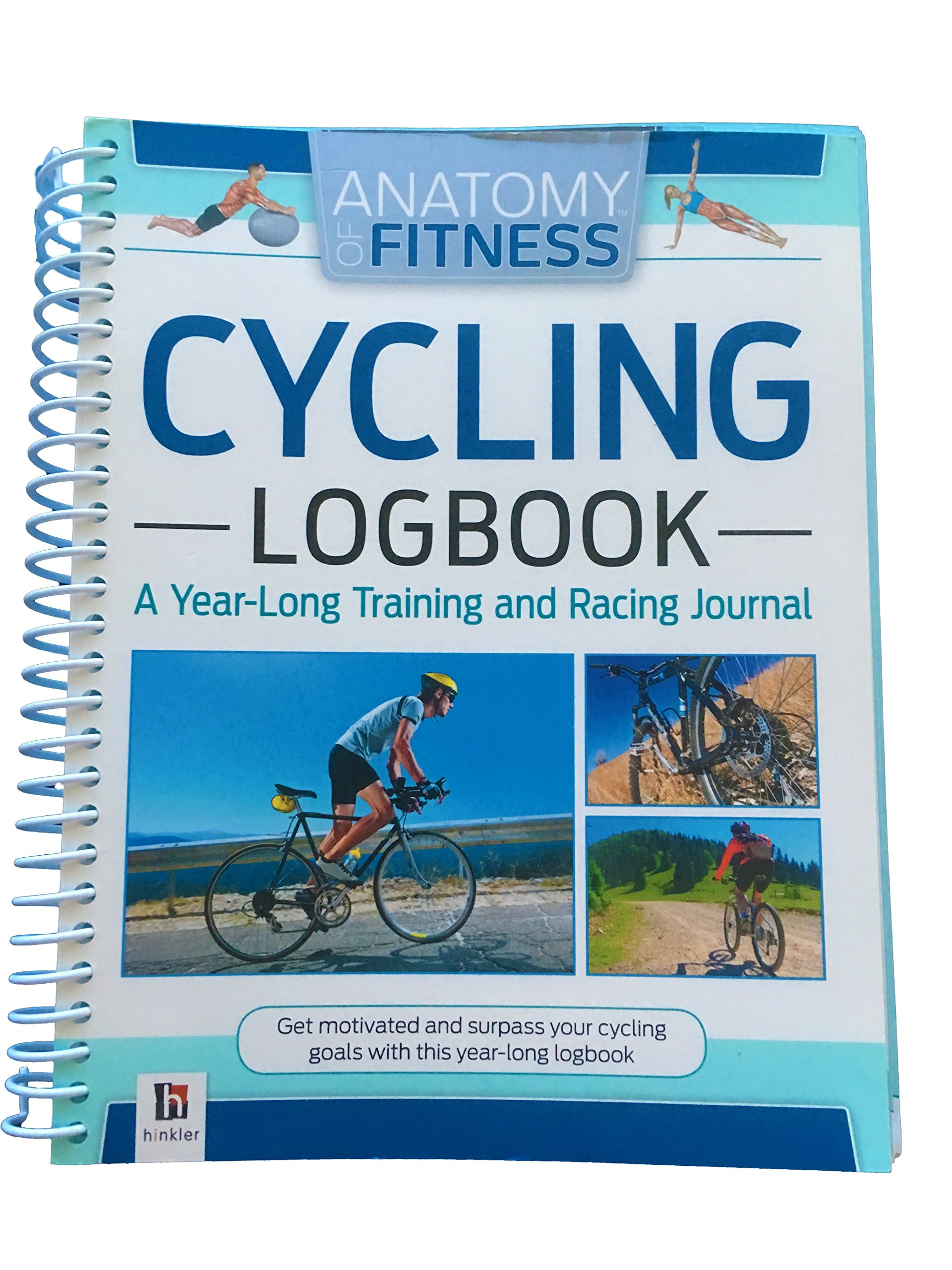 Anatomy of Fitness Cycling Logbook, a Year-Long Training & Racing ...