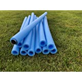 6 REPLACEMENT TRAMPOLINE SAFETY FOAM POLE SLEEVES PADDING FOR NET POLES