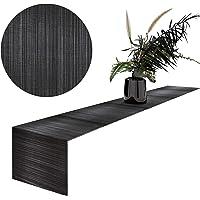 MadeTerra Bamboo Table Runner Rectangular Hand Woven Rustic Farmhouse Table Runner Decorative Table Mat for Dining Room…