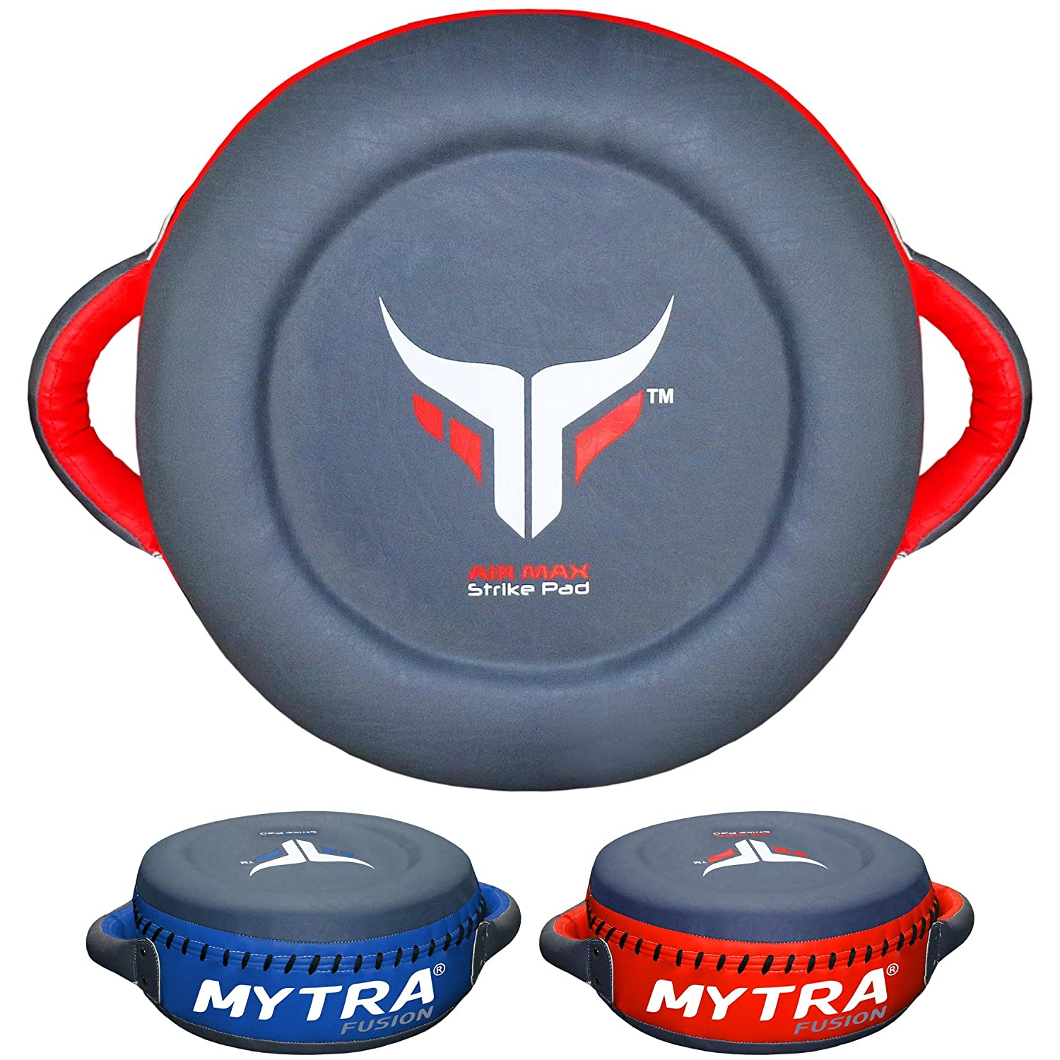 Mytra Fusion Synthetic Leather Strike Pad Boxing Pads Muay Thai MMA Punching Training Pads Focus pad Dummy Pads Thai pad Kick pad Training Punching Sparring Pads. Standard Farabi Sports