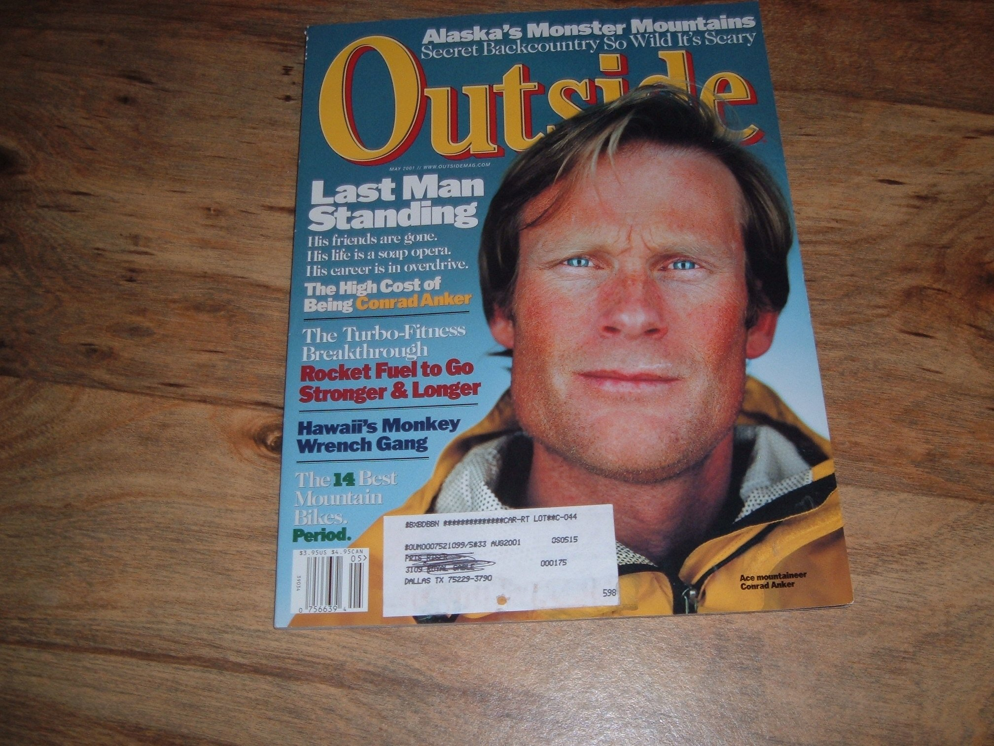 Outside, May 2001-Mountaineer Conrad Anker & Molokai, Hawaii-Chinatown of the Pacific.: May 2001-Mountaineer Conrad Anker & Molokai, Hawaii-Chinatown of the ...