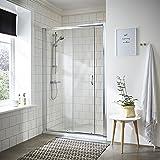 VeeBath Fenwick Modern Bathroom Showers 1200mm Sliding Shower Doors Enclosure Cubicle Sliding Doors
