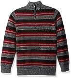 Calvin Klein Big Boys' Halt Stripe Half-Zip