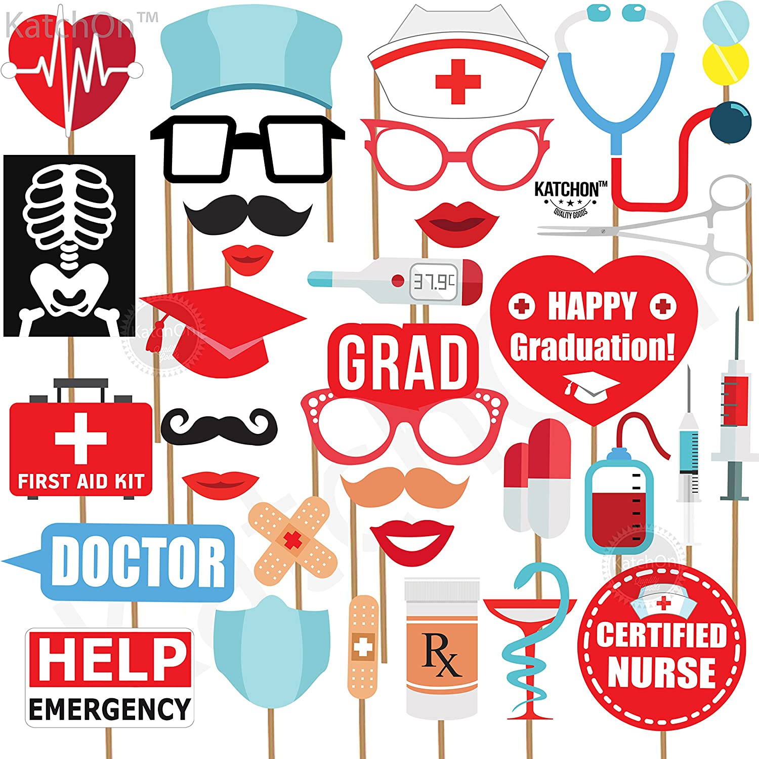 Medical Nursing School College Graduation Backdrops Photography Step and Repeat Studio Background for Retirement Party Photo Booth Props
