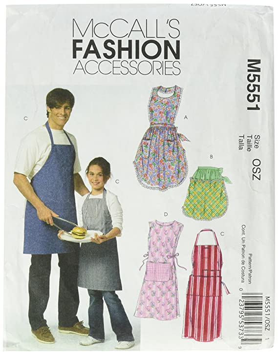 Amazon.com: McCall\'s Patterns M5551 Misses\'/ Men\'s/ Children\'s/ Boys ...