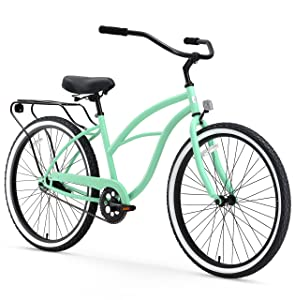 "sixthreezero Around The Block Beach Cruiser Bicycle & eBike, 24"" & 26"""