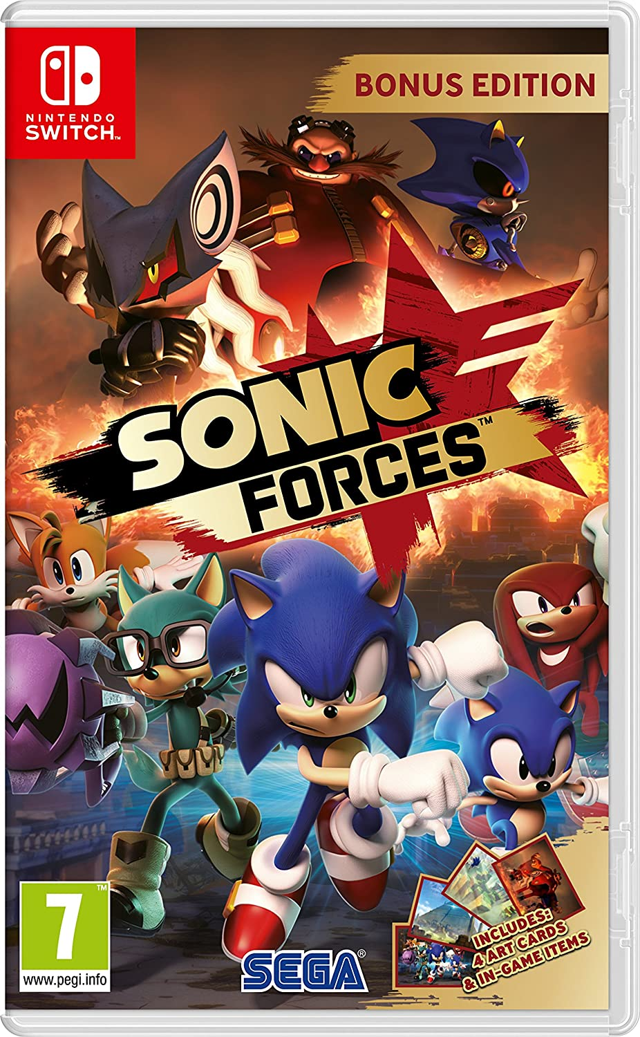Sonic Forces Bonus Edition (Nintendo Switch) [importación inglesa]: Amazon.es: Videojuegos