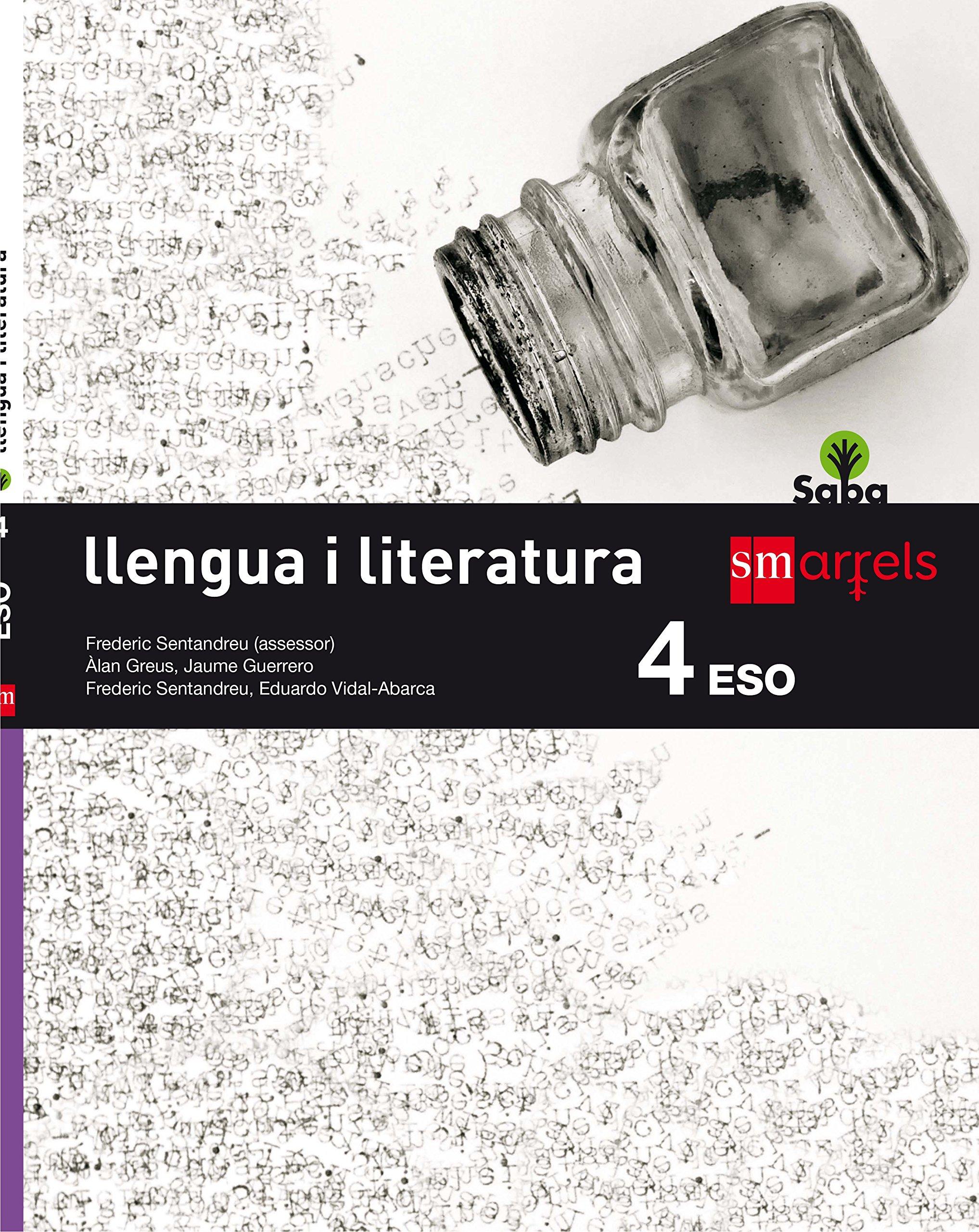 Llengua i literatura. 4 ESO. Saba - 9788467587456: Amazon.es ...