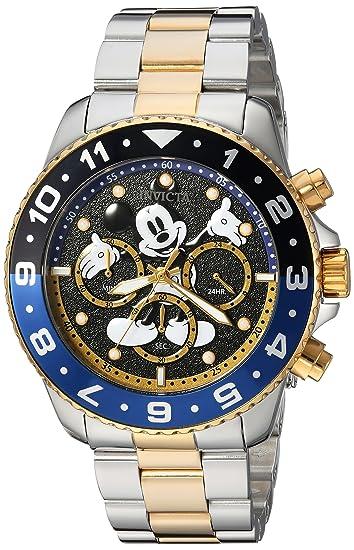 INVICTA DISNEY LIMITED EDITION RELOJ DE HOMBRE CUARZO CORREA DE ACERO 24954: Invicta: Amazon.es: Relojes