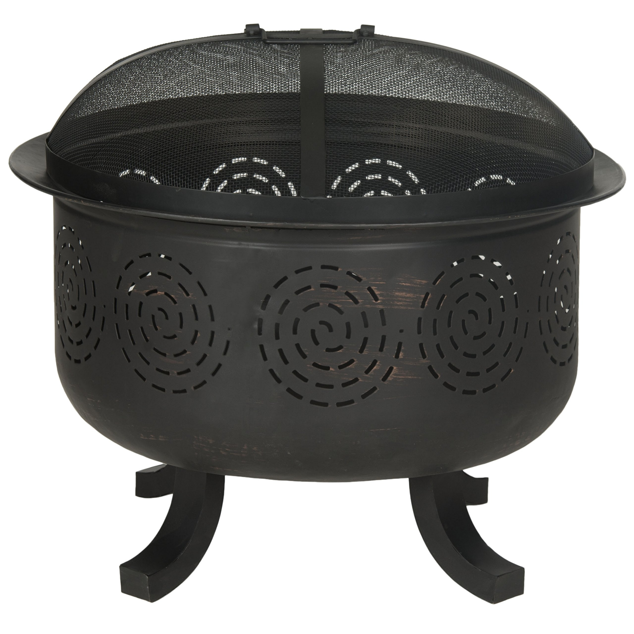 Safavieh Fire Pit, Copper/Black by Safavieh