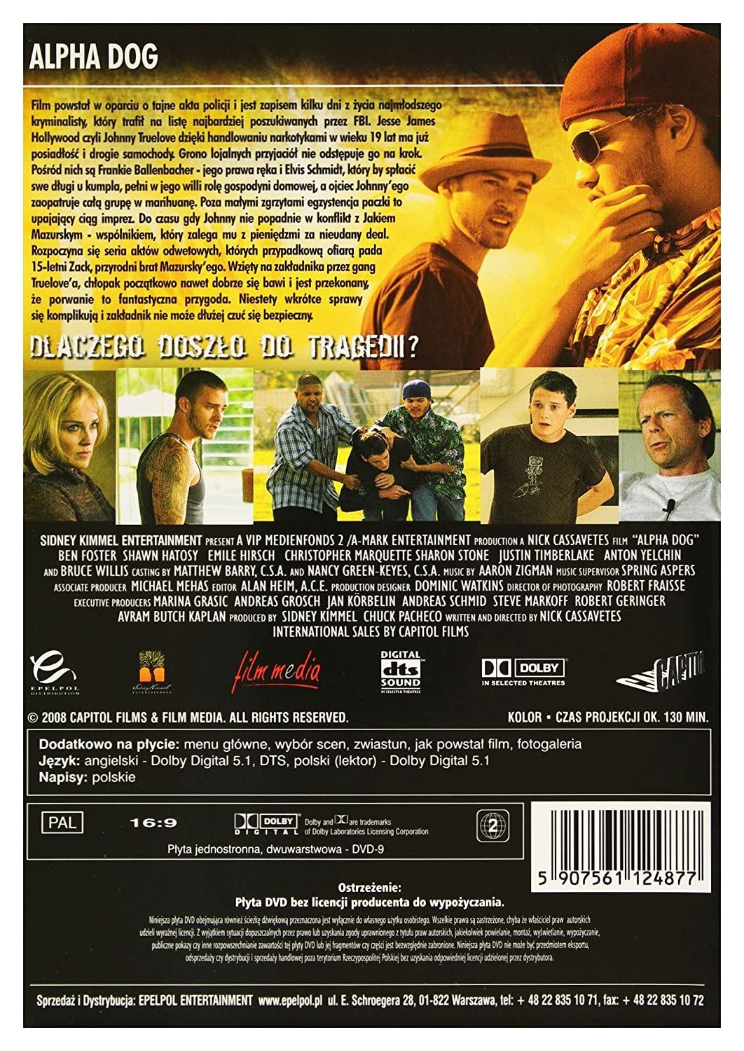 Amazoncom Alpha Dog Dvd English Audio Bruce Willis Matthew