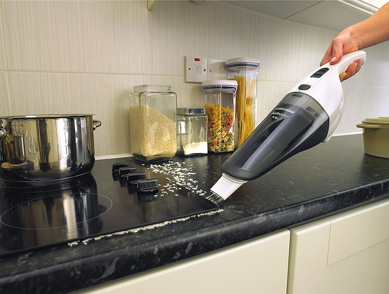 Black+Decker NV3620N - Aspirador de mano ciclónico, 3.6 V, Sólidos ...