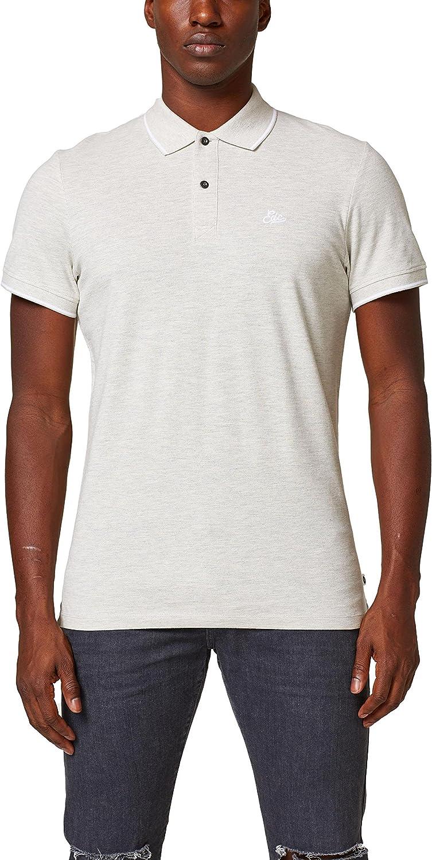Camiseta by Esprit, Polo para Hombre, Gris (Medium Grey 035 ...