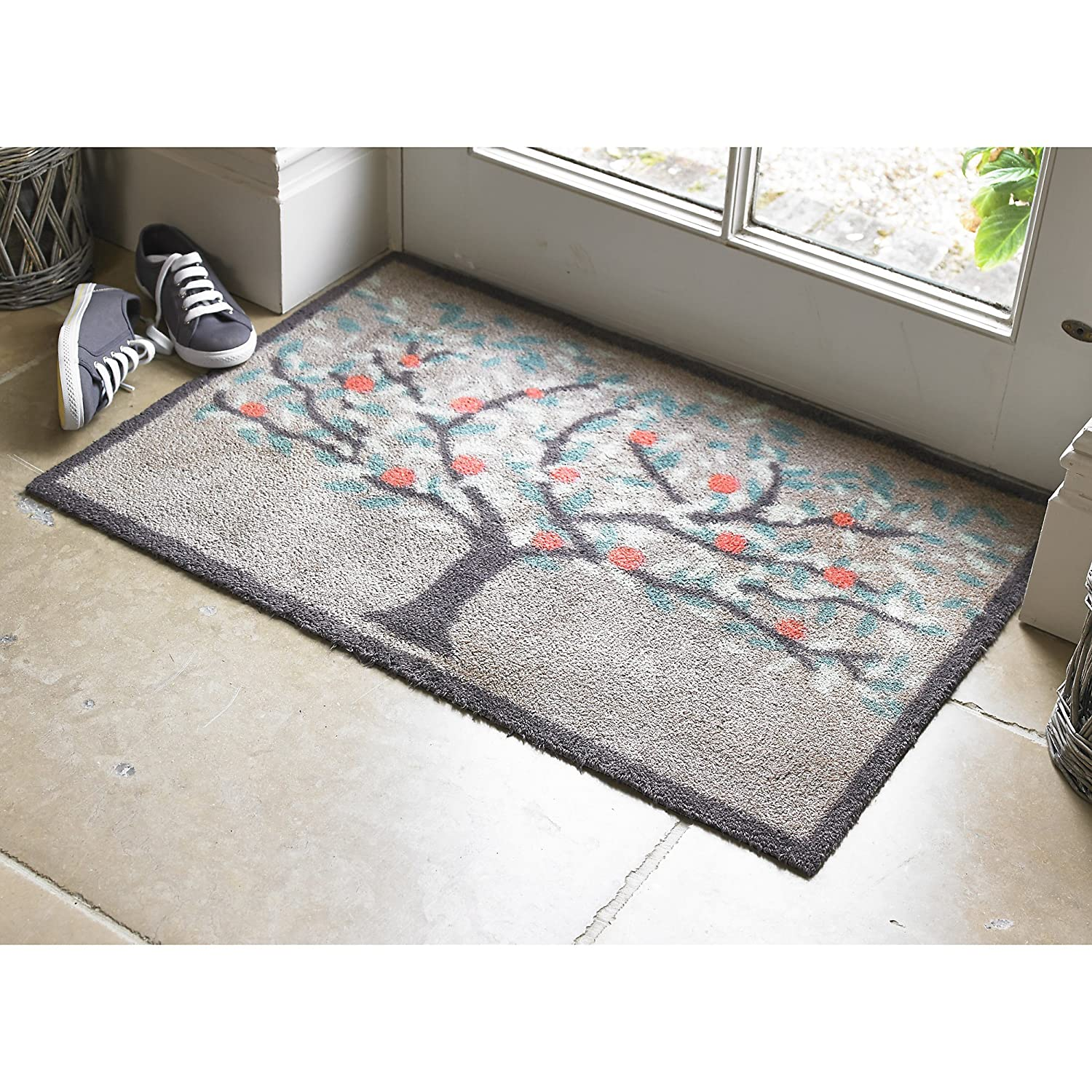 Dee Hardwicke Turtle Mat Orchard Indoor Floor Doormat