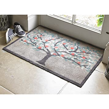 Dee Hardwicke Turtle Mat Orchard Indoor Floor Doormat: Amazon.co ...