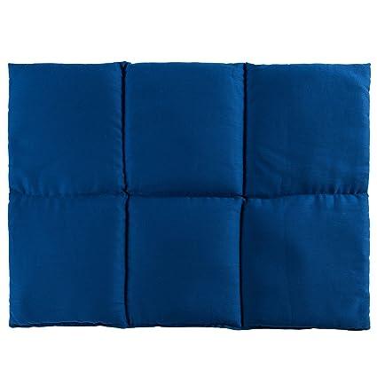Cojín de semillas de grosellas | 40x30 azul | Algodon ...