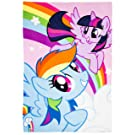My Little Pony Girls Fleece Blanket - pink