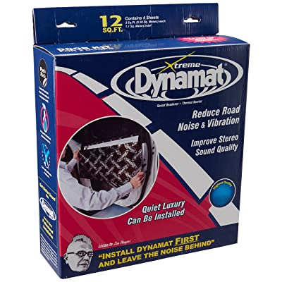 "Dynamat 10435 12"" x 36"" x 0.067"" Thick Self-Adhesive Sound Deadener with Xtreme Door Kit: Automotive"